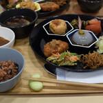 こまきしょくどう 鎌倉不識庵 - 口福定食 1650円