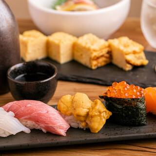 本格寿司から一品まで
