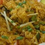 クマリ レストラン - お米は短粒米を使用