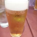 Oggi - 暑い日でしたので「ビール」を・・フフ。