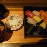 仙之助 - M君はメインに寿司をチョイス