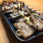 やきとりそね田 - 料理写真:皿に盛る