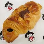 金太郎パン - チョコクロワッサン(195円)