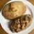 ぷるみえーる - 料理写真:パン・オ・フロマージュとパン・オ・レザン