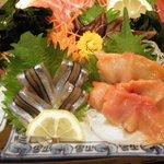 392  - サヨリに赤貝にトリ貝にサーモンにハマチ?