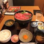 スギモト本店 - 尾張牛すき鍋御膳