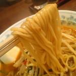 香来 - この麺はやはりまぜそばでこそ真価を発揮するような・・・
