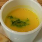 13528366 - カボチャの豆乳スープ
