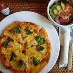 cafe 風のシンフォニー - 料理写真:マルガリータとサラダ