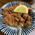 うどん料理 いなみ - 鶏の唐揚げです