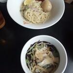 三田製麺所 - 冷たい鯛だしつけ麺(細麺)790円