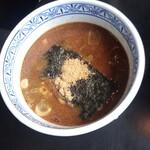 三田製麺所 - つけ麺の付け汁