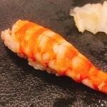 Funamachisushi yamashita - 蒸しエビ