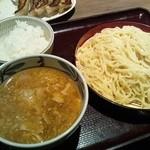 伝丸 - 味噌肉つけ麺 ¥680