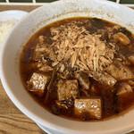 水餃子と胡椒シュウマイの二兎 - しびれ麻婆麺