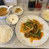 中華料理 龍上 - 料理写真:レバー炒め定食@900