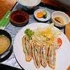 日和佐 - 料理写真:しそ巻き定食
