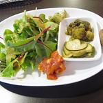 manma cafe - 前菜とサラダ
