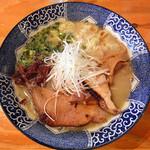 麺や 亀陣 - 鶏白湯しお_700円