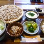 13530612 - 蕎香セット1100円