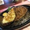 レストラン 栗の里 - 料理写真:ダブルハンバーグ~