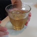 アルフォンソカフェ - セットのリンゴジュース
