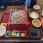 与三郎そば - 料理写真:とろろせいろ2段 @1500
