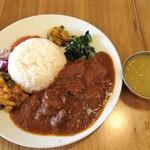 135303768 - マトンダルバート(ネパール定食)