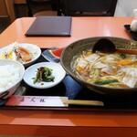 喜久龍 - 料理写真:チャンポン定食860円(税込)