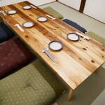 銀シャリ 原始焼き 食堂 ロビン - 2階個室【4名様~6名様】
