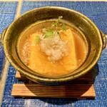 炭と蕎麦と釜めし はら田 - 蕎麦屋の出汁巻