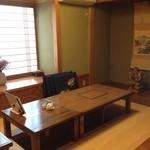 小判寿司 - 大きい方の掘りごたつの座敷!!半個室!!