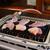 ドライブイン鳥 - 料理写真:網に乗せて焼いていきます。