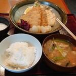 練馬食堂 汁とめし - 鯵フライ定食