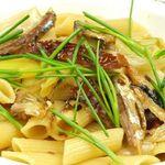 Chopstick French Cafe - 秋刀魚と焼き葱のペンネ 945円
