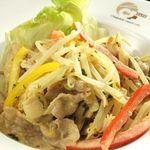 Chopstick French Cafe - 薄切りポークのポッシャージュ しゃきしゃき野菜のロシアSTYLE 840円