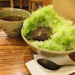 赤福茶屋 - こし餡がひょっこりはん♪