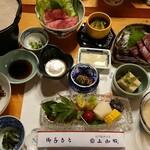 上御殿 - 料理写真:夕食