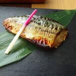 135326631 - 本日の焼き魚は 鯖でした