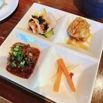 三国志  - 前菜4種