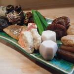 竹はる - 料理写真:煮こみなど盛り合せ