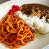リバーストーン - 料理写真:コンビ(ナポリ&カレー)