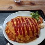 たんぽぽ - 料理写真:ジャンボオムライス
