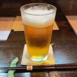 和・豊田 - 生ビール