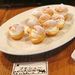 The LOAF Cafe - プチシュー@レモンとパッションフルーツコンフィチュール入りでさっぱり