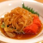 中国料理 琥珀 - クラゲの冷菜