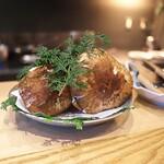 やまぐち - 国産松茸がはやここでも登場。大きく立派な宮城県産。