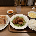 関内餃子軒 - ユーリンチーセット