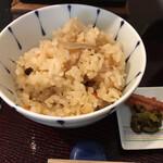 日本料理 華厳 - かやくご飯