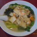 中華料理 東東 - 料理写真:海鮮ラーメン